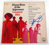 Mary Wilson Signed Album Diana Ross & The Supremes Greatest Hits Vol. 3 w/ AUTO