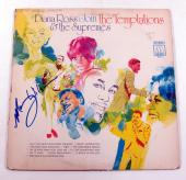 Mary Wilson Signed Album Diana Ross & The Supremes Join the Temptations w/ AUTO