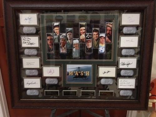 """M*A*S*H, 4077,  """"Autographed"""" (JSA), Cast Members (10 Autos)"""
