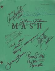 "M*A*S*H"" Signed Script By ALAN ALDA, LORETTA SWIT, JAMIE FARR, HARRY MORGAN, MIKE FARRELL, GARY BURGHOFF, WILLIAM CHRISTOPHER, and DAVID OGDEN STIERS"