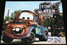 MATER Larry the Cable Guy signed 8 x 10, Disney, CARS, Proof, COA3