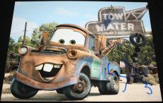 MATER Larry the Cable Guy signed 8 x 10, Disney, CARS, Proof, COA4