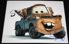 MATER Larry the Cable Guy signed 8 x 10, Disney, CARS, Proof, COA5