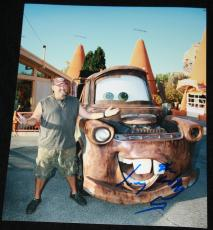 MATER Larry the Cable Guy signed 8 x 10, Disney, CARS, Them Idiots, Proof, COA