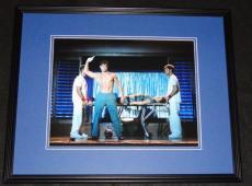 Matt Bomer Signed Framed 11x14 Photo Poster AW Magic Mike B