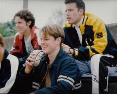 Matt Damon and Ben Affleck Signed - Autographed Good Will Hunting 8x10 Photo