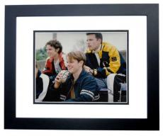 Matt Damon and Ben Affleck Signed - Autographed Good Will Hunting 8x10 Photo BLACK CUSTOM FRAME