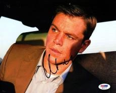 Matt Damon Authentic Autographed Signed 8x10 Photo PSA/DNA