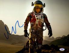 "Matt Damon Autographed 11"" x 14"" Horizontal The Martian Photograph - PSA/DNA"