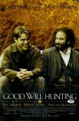 "Matt Damon Autographed 12"" x 18"" Good Will Hunting Movie Poster - PSA/DNA"