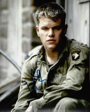 Matt Damon Signed - Autographed Saving Private Ryan 8x10 Photo