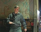 Matt Damon Autographed Signed 11x14 Crazy Face Knife Photo AFTAL