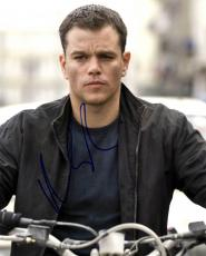 Matt Damon Autographed Signed 8x10 Bourne Photo UACC RD AFTAL COA