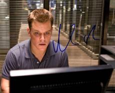Matt Damon Autographed Signed 8x10 Departed Photo UACC RD AFTAL COA