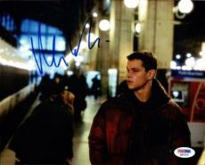 Matt Damon Autographed Signed 8x10 Photo PSA/DNA #Q93102