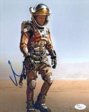 "Matt Damon Autographed Signed 8x10 Photograph ""The Martian"" (JSA)"