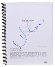 Matt Damon Autographed The Martian Replica Movie Script - PSA/DNA COA