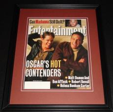 Matt Damon & Ben Affleck Framed ORIGINAL 1998 Entertainment Weekly Cover