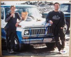 Matt Damon Ben Affleck Goodwill Hunting 2x signed 8x10 photo PSA/DNA autograph