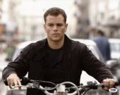 Matt Damon Bourne Supremacy Signed 11X14 Photo PSA/DNA #M97388