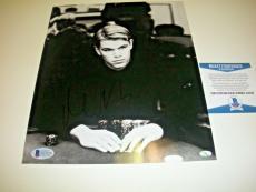 Matt Damon Famous Actor Mead Chaskey/holo Signed 8x10 Photo