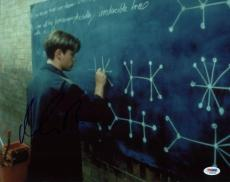 Matt Damon Good Will Hunting Signed 11X14 Photo PSA/DNA #S33648