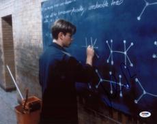 Matt Damon Good Will Hunting Signed 11X14 Photo PSA/DNA #T76461