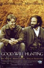Matt Damon Good Will Hunting Signed 11x17 Photo BAS #C15349