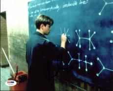 Matt Damon Good Will Hunting Signed 8X10 Photo PSA/DNA #U51080