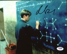 Matt Damon Good Will Hunting Signed 8X10 Photo PSA/DNA #W19972