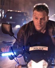 Matt Damon Jason Bourne Signed 8X10 Photo Autographed PSA/DNA #AC43499
