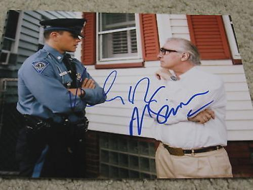 MATT DAMON MARTIN SCORSESE SIGNED AUTOGRAPH 8x10 PHOTO