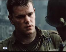 Matt Damon Saving Private Ryan Signed 11X14 Photo PSA/DNA #X31055