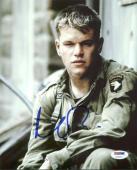 Matt Damon Saving Private Ryan Signed 8X10 Photo PSA/DNA #Y43111