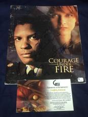 Matt Damon Sean Astin Scott Glenn Courage Under Fi Signed Autograph Press Folder