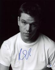 Matt Damon Signed 11X14 Photo Autographed PSA/DNA #X31056