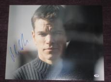 MATT DAMON Signed 16 x 20 PHOTO with PSA COA