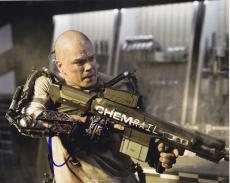 Matt Damon Signed 8x10 Photo Elysium Rare New Film Image Proof Autograph Coa B