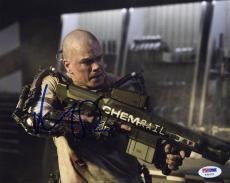 Matt Damon SIGNED 8x10 Photo Max DeCosta Elysium *ACTION* PSA/DNA AUTOGRAPHED