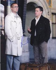 Matt Damon Signed 8x10 Photo w/COA Brad Pitt Oceans A