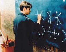 Matt Damon Signed 8x10 Photo w/coa Good Will Hunt Proof