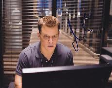 Matt Damon Signed 8x10 Photo w/coa The Departed Proof