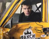 Matt Damon Signed 8x10 The Bourne Supremacy Photo PSA AD83864
