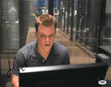Matt Damon Signed Authentic Autographed 11x14 Photo (PSA/DNA) #J03207