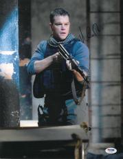 Matt Damon Signed Authentic Autographed 11x14 Photo (PSA/DNA) #S23292