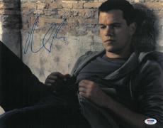 Matt Damon Signed Authentic Autographed 11x14 Photo (PSA/DNA) #S23293