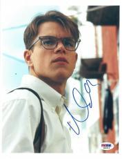 Matt Damon Signed Authentic Autographed 8x10 Photo (PSA/DNA) #M96916
