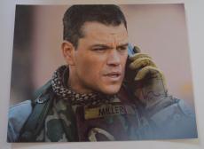 Matt Damon Signed Autographed 11x14 Photo SAVING PRIVATE RYAN COA VD