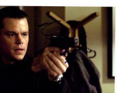 Matt Damon Signed Autographed 8x10 Bourne Photo AFTAL