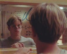 Matt Damon Signed Autographed 8x10 Photo Good Will Hunting A